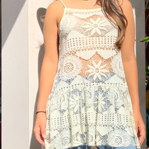 Urban Outfitters Ecote White a Top